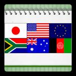Androidアプリ「首都クイズ(世界編)」をリリースしました。
